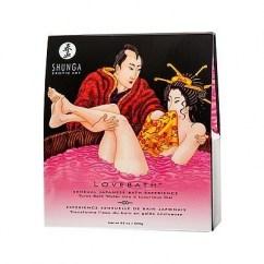Shunga Producto para crear un gel de baño espumoso y agradable con propiedades curativas y terapéuticas. Aromatizarán todo el baño a Fruta del Dragón. Love Bath Fruta del Dragón