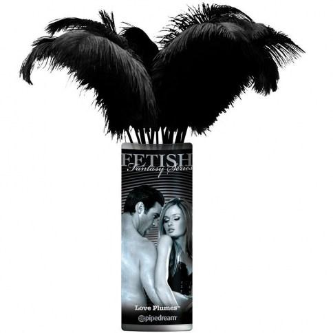 Pack de 12 plumas de lo más suaves. Gran calidad, siente cada caricia.
