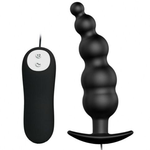 Disfruta del maravilloso placer de la estimulación anal con este plug de silicona