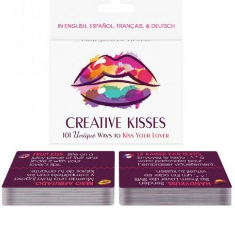 101 Formas de besar a tu pareja de forma distinta y original. Sorprendela con este regalo.