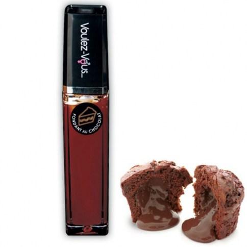 Brillo de labios con efecto frescor y calor para estimular las zonas más erógenas de tu chica y con aroma a chocolate