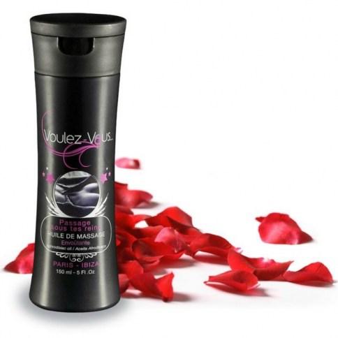 Aceite masaje pétalos de rosa 150 ml, sin conservantes, parabenos ni añadidos.