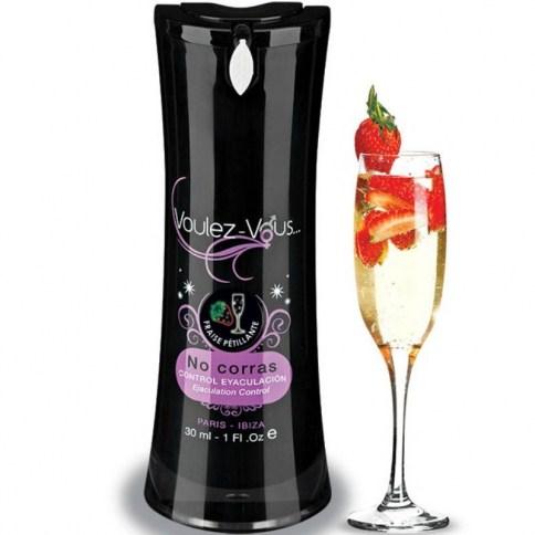 Lubricante para prolongar las relaciones sexuales a la vez que disfrutar de su dulce sabor a Fresas con Cava.