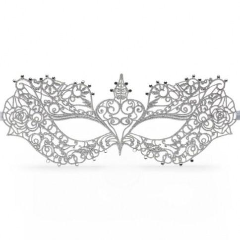 Fifty Shades Darker mascara basaca en la mascara de Anastasia en la pelicula oficial.