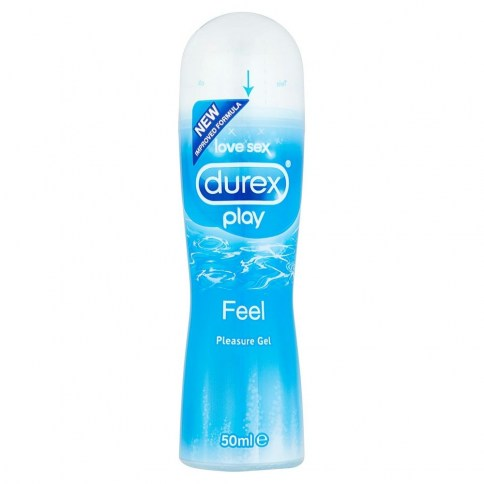 Durex El lubricante clásico de durex. Ideal para combatir la sequedad vaginal temporal y evitar fricciones molestas. Base acuosa. Play Original 50 ml