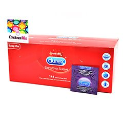 Durex El preservativo más vendido de Durex. Durex Contacto Total. Ultra finos con forma anatómica para facilitar su colocación. Elite (Sensitivos) 144 uds