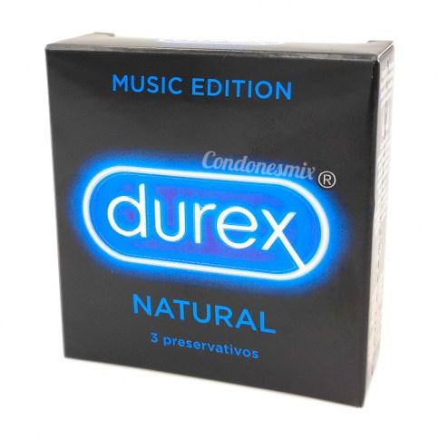 Durex Durex Anatomic, preservativos más cómodos y fáciles de colocar gracias a su sistema innovador Easy On. Con déposito en la punta. Condones Durex Natural Plus 3 uds