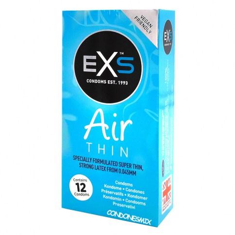 EXS El preservativo de látex más fino del mundo, de la mano de EXS, marca premium en Reino Unido. Air thin Ultrafino