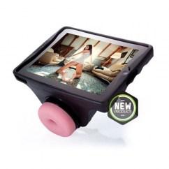 Fleshlight Accesorio Fleshlight, soporte para disfrutar de la masturbación con vídeos, fotos o incluso vídeo llamadas. Launchpad