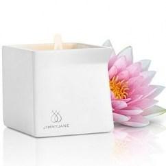JimmyJane Vela de masaje que envolverá todo tu entorno en un dulce aroma a Flor de Loto, dejando así una ambiente único. Vela Pink Lotus