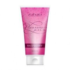 Zahara Bálsamo en gel con aroma a Frambuesa. Diseñado para aumentar sensaciones e intensificar el placer. Balsamo de Placer Frambuesa