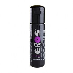 Eros Lubricante medicinal con sabor, mejora la capacidad deslizante en las relaciones íntimas. Frasco de 100 ml Tasty Fruits Kiwi/Fresa
