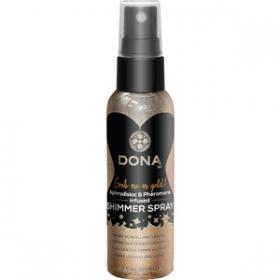 Spray liquido brillante oro 60 ml