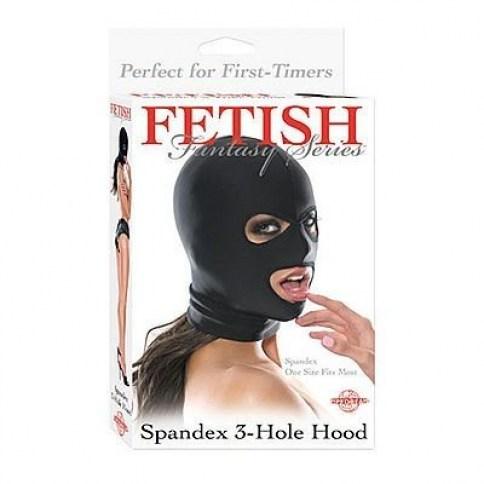 Pipedream Mantente de incógnito con esta máscara unisex de spandex, manteniendo acceso a la boca. Máscara apertura boca y ojos