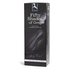 50 Sombras de Grey Masajeador de alta potencia a la vez que silencioso, estimulador externo Holy Cow Masajeador