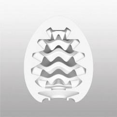 Tenga Relieve interior brinda sensaciones únicas y suaves al contacto con la piel. Tenga Egg Wavy