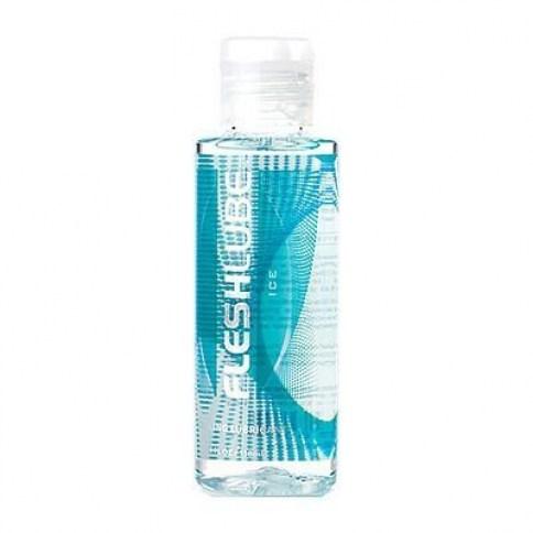 Fleshlight Lubricante con efecto frescor. Perfecto para acompañarte en las noches más cálidas, con base de agua, no deja mancha ni es graso. Fleshlube Ice 100 ml