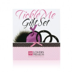 CM Set cosquillas lila ideal para regalar D-196720 regalos sencillos pero eficaces Set cosquillas lila