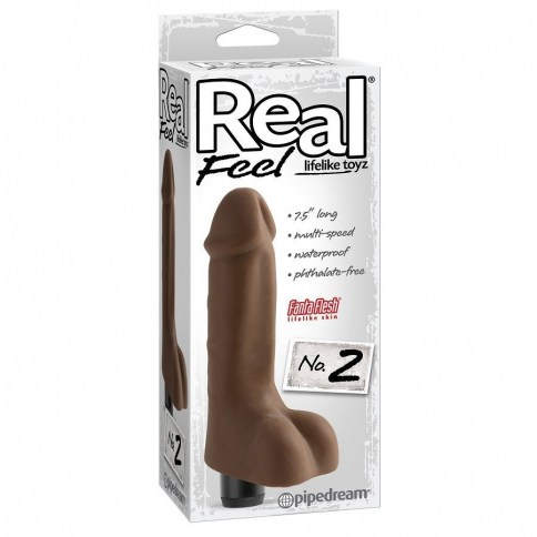 . Pipedream real feel lifelike toyz vibrador num 2 natural vibradores muy realisticos Pipedream Real Feel Lifelike Toyz nº2 .