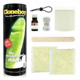 Cloneboy kit clonador de pene brillante en la oscuridad.
