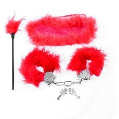 Pipedream Fetish fantasy kit fantasias plumas de Pipedream Máscaras y esposas Fetish fantasy kit fantasias plumas