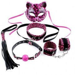 Pipedream Fetish fantasy series felina kit kitty de Pipedream Máscaras y esposas Fetish fantasy series felina kit kitty
