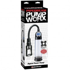 Pipedream Bomba de ereccion digital de la sub marca Pump Worx de Pipedream PD3263-23 Bomba de ereccion digital