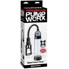 Pipedream Bomba de ereccion digital de la sub marca Pump Worx de Pipedream PD3263-23 Bomba de ereccion digital