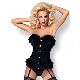 Obsessive corset baletti negro