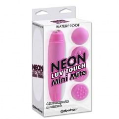 Pipedream Neon luv touch mini masajeador perfecto para zonas externas. Neon luv touch mini masajeador