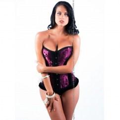 Queen lingerie Queen corset zuleika disponible en varias tallas, encuetra la tuya y disfruta de una noche distinta Queen corset zuleika