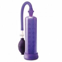 Pipedream Bomba de ereccion de silicona lila de la sub marca Pump Worx de Pipedream PD3255-12 Bomba de ereccion de silicona lila