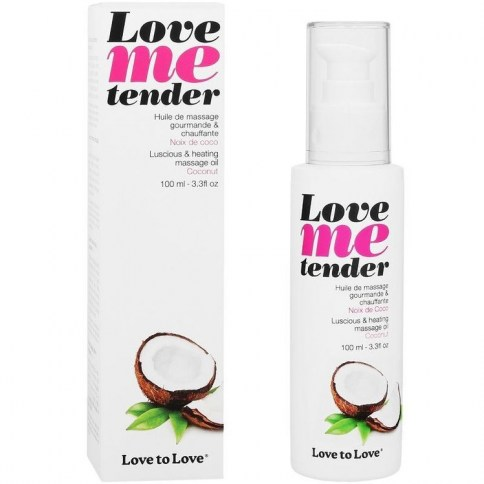 Me tender masaje&efecto calor sabor a coco 100ml