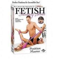 Pipedream Fetish fantasy posicion master de Pipedream Máscaras y esposas Posicion master