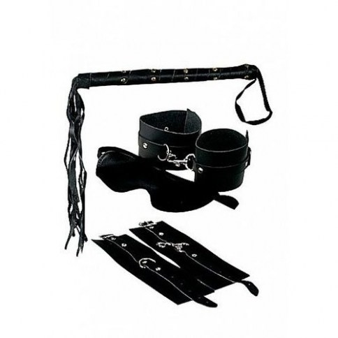 . Pipedream Fetish fantasy kit bondage de cuero premium de Pipedream Máscaras y esposas Fetish fantasy kit bondage de cuero premium .