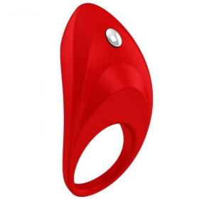 B7 anillo vibrador rojo