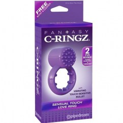 Pipedream Fantasy c-ringz sensual touch love ring de Pipedream, marca premium C-ringz sensual anillo con sensor