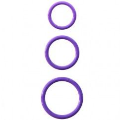 Pipedream Fantasy c-ringz 3 rings staminas de Pipedream, marca premium C-ringz 3 anillas silicona stamina s