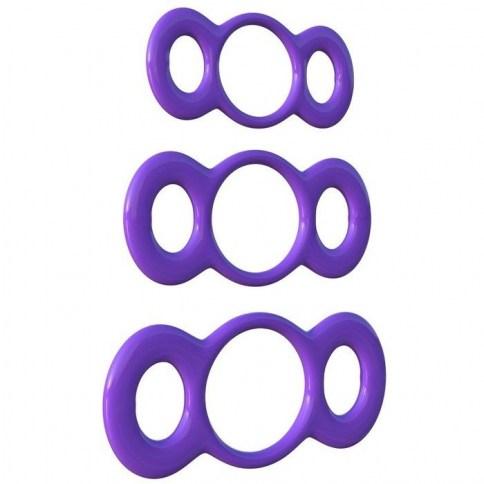 . Pipedream Fantasy c-ringz 3 rings quick release training de Pipedream, marca premium C-ringz 3 anillas training .