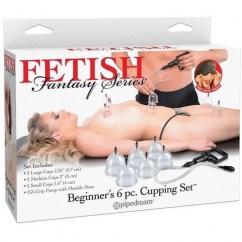 Pipedream Fetish fantasy set succion 6 piezas de Pipedream Kits Set succion 6 piezas