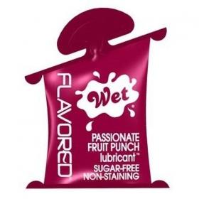 Flavored lubricante fruta de la pasion 10ml