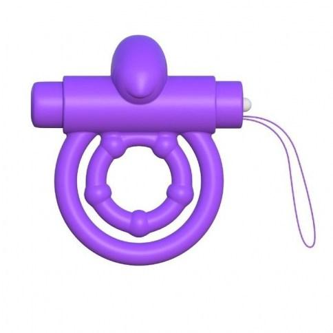 . Pipedream Fantasy c-ringz remote control rabbit ring purple de Pipedream, marca premium C-ringz anillo vibrador control remoto .