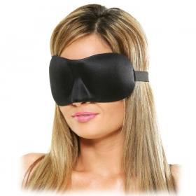 Deluxe fantasy mascara negro