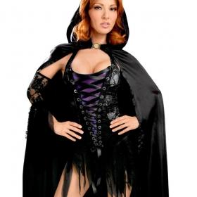 Queen Vestido Halloweeen Bruja Sexy