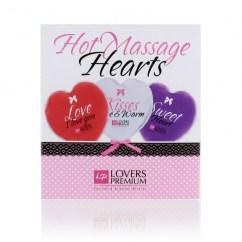 CM Loverspremium corazones de masaje calientes. ideal para regalar D-196716 regalos sencillos pero eficaces Loverspremium corazones de masaje calientes.