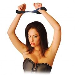 CM Esposas de forradas con peluche. Solo para uso adulto, incluye 2 juegos de llaves. Esposas forradas