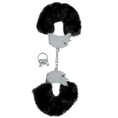 Pipedream Edicion limitada esposas negras de Pipedream, marca lider en bondage Edicion limitada esposas negras