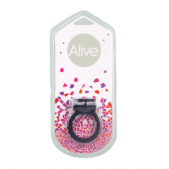 Alive Alive power ring symbol negro de Alive D-194889 Symbol Anillo