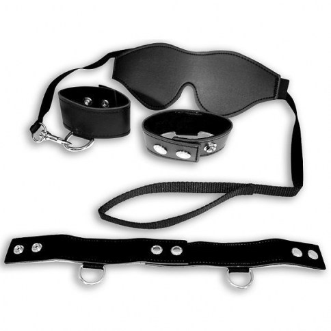 . CM Black bondage kit ideal para regalar D-195291 regalos sencillos pero eficaces Black bondage kit .