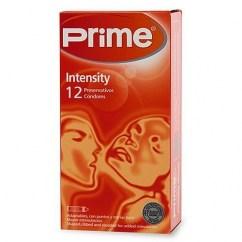Prime Condones diseñado especialmente para dar más placer a las mujeres con sus estrías. Siente cada roce, cada sensación será intensa. Forma anatómica. Condones Intensity Prime